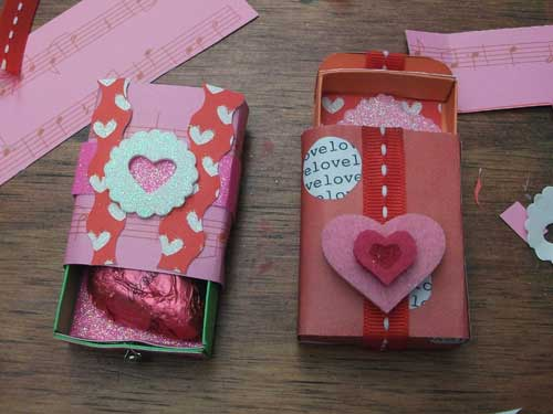 Valentine Matchboxes