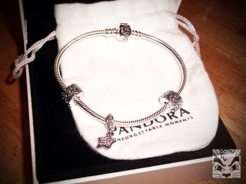 Pandora bracelet for Miss Cregg