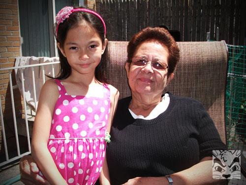 Grandma visits
