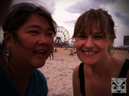 Me and Starr and the Wonder Wheel!