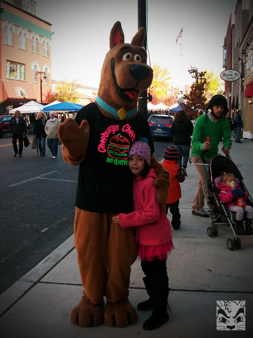 We ran into Scooby Doo!