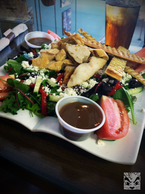 I needed this salad after all the fried foods I ate!